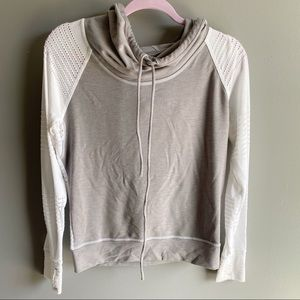 Athleta Limitless Cowl Neck Pullover Hoodie